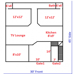 5 marla plot and house for sale in Rahimyar Khan