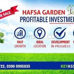 923403 250x250 - Plot for sale in Hafsa Garden Karachi